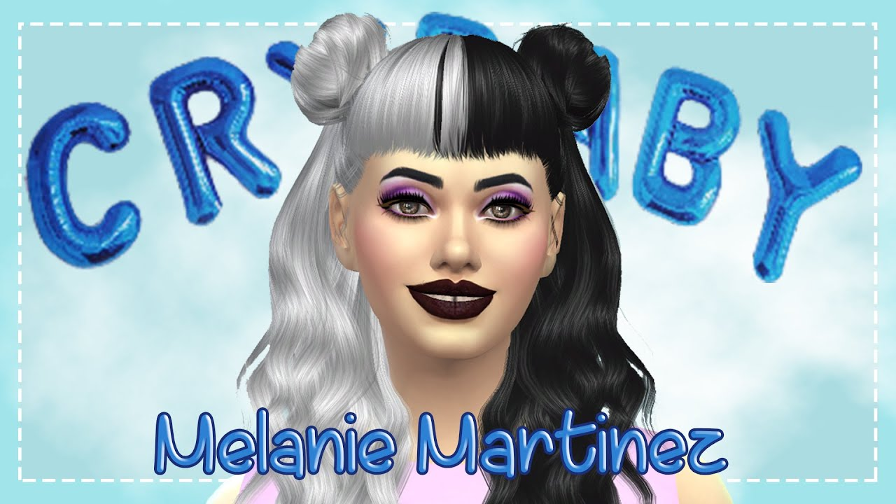 Melanie Martinez || SIMS 4 || Create-A-Sim ^^ - YouTube