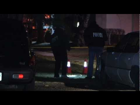 Crime Scene Video: Man dead in Flint overnight after chase through apartment complex