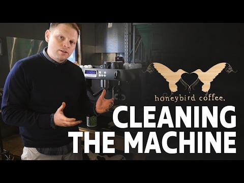 BARISTA TRAINING SERIES - Part 9 -  Cleaning the machine