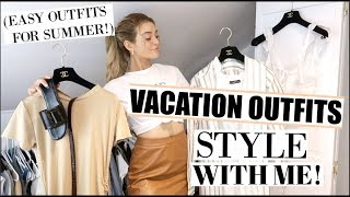 Style With Me for Cabo! Vacation Outfit Ideas 2019