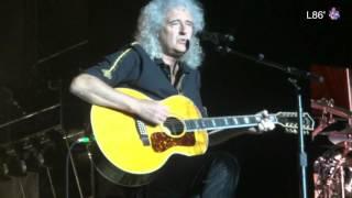 Queen + Adam Lambert Live In Buenos Aires -  Las Palabras de Amor (Audience Recording)