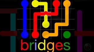 Flow Free Bridges - iPhone & iPad Gameplkay Video screenshot 4
