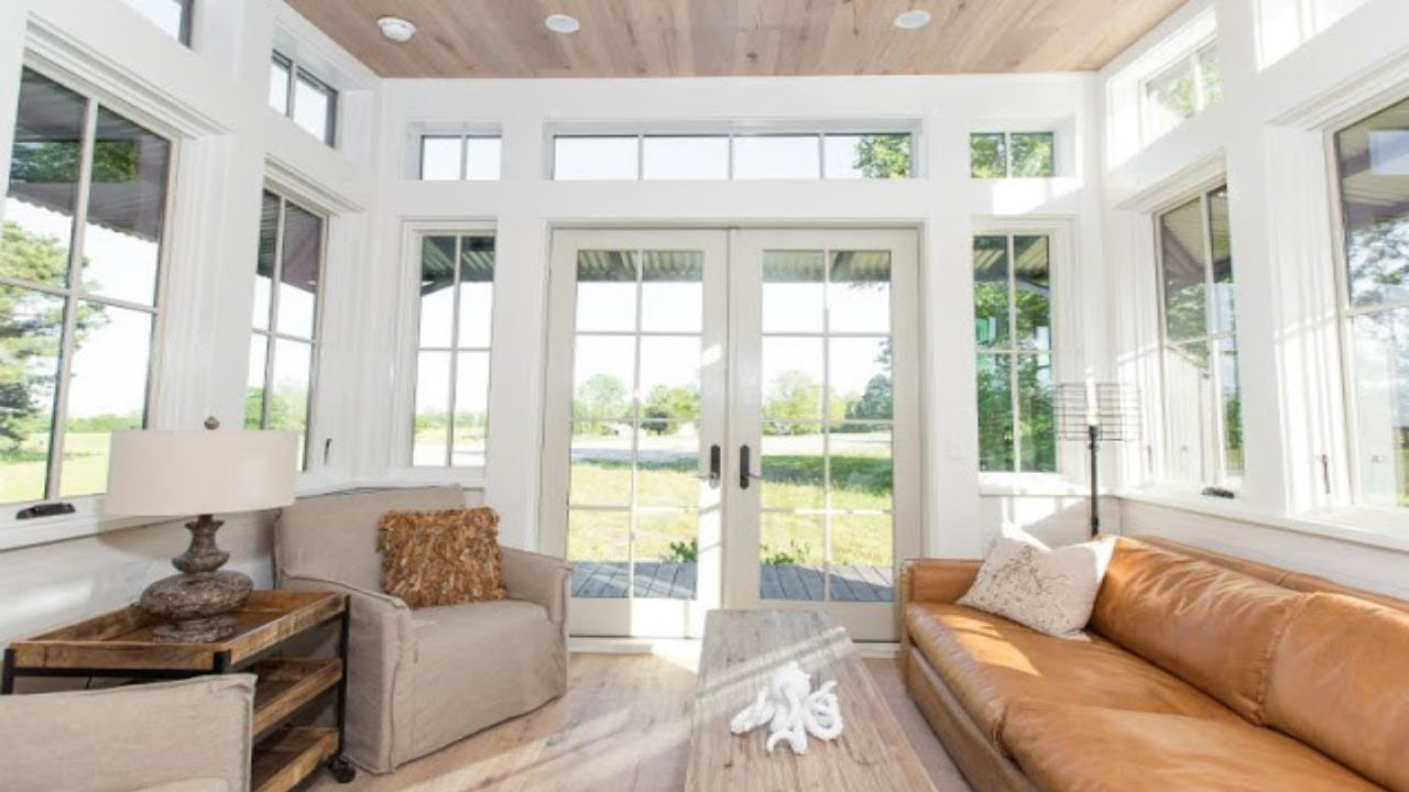 Amazing Tiny Home-The Saltbox (450 SQ FT)|Tiny Home Design Ideas ...