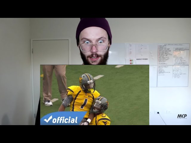 Rugby Player Reacts to TAVON AUSTIN The One College Football Highlights!