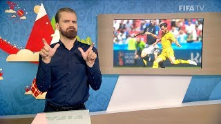 Fifa wc 2018 - fra vs. aus – for deaf and hard of hearing - international sign