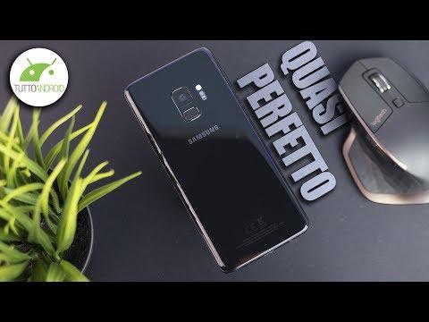 SAMSUNG GALAXY S9 RECENSIONE: il TOP... con UN SOLO DIFETTO. | ITA | TuttoAndroid