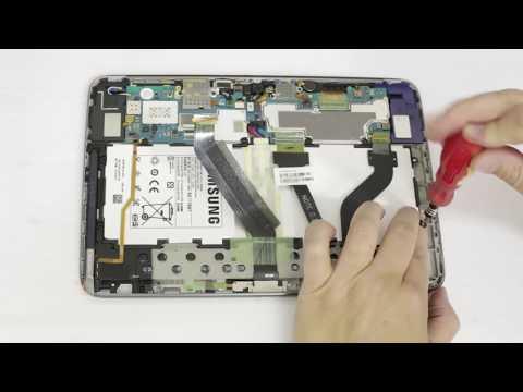 Como trocar a bateria do Samsung Galaxy Note 10.1 GT-N8000