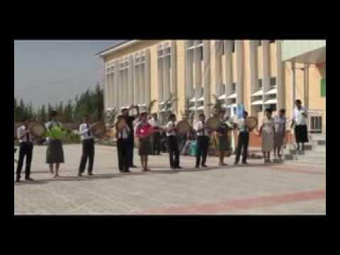 Construction process of school in Andijan - UNDP/GEF Project in Uzbekistan