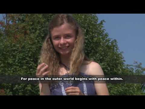 Peace Project - Eine Initiative von Christina von Dreien (mit engl. Untertiteln)
