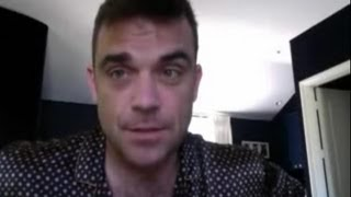 Robbie Williams - In His House In Los Angeles (Blog from robbiewillliams.com 2011)
