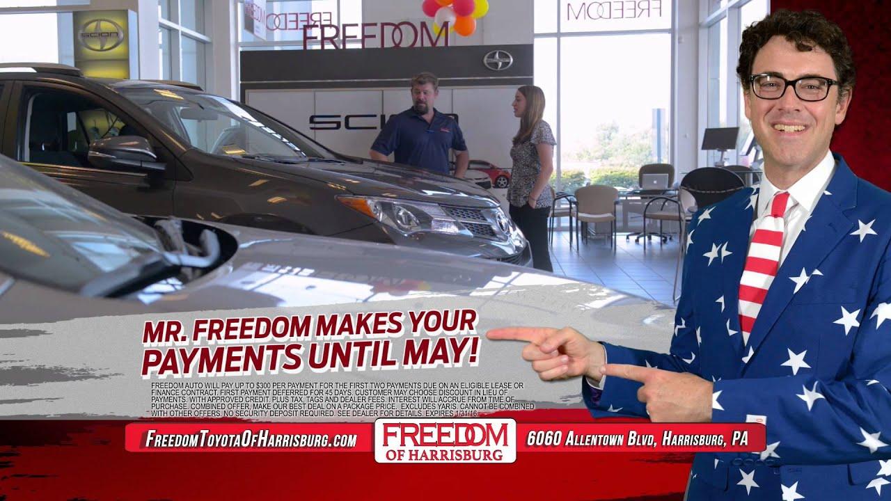No Payments U0027Til May   Harrisburg, PA   Freedom Toyota Harrisburg