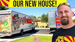 Moving to New House in Gilbert Arizona! Phoenix House Hunting, House Tours & Moving Day