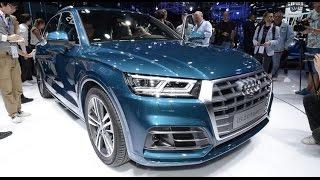 2017 Audi Q5 [MONDIAL DE L'AUTO] : la présentation du SUV sur le stand Audi