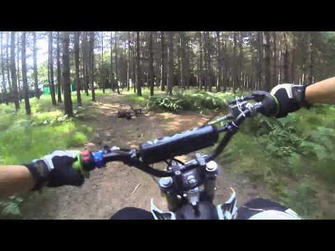 Ride day Pit Bike GOPRO YCF 140cc on my track