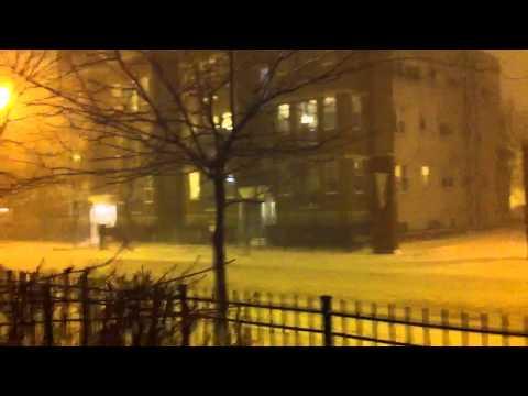 Blizzard in Chicago