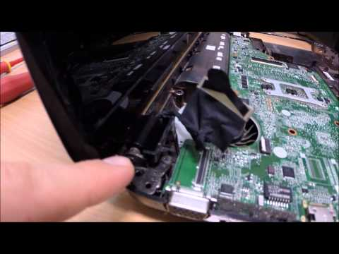 How to Fix a Broken Laptop Screen Arm Hinge (HP) BODGE