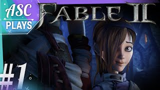 Let's Play Fable 2 - Part 1 - 100% Good Alignment Female Play Through
