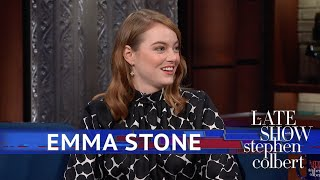 emma stones elf character caught orlando blooms attention