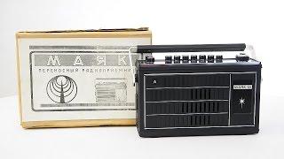 Обзор Радиоприемник Маяк М СССР 1979 год