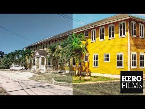 Reconstrucción Digital Hotel Miramar, Preston, Holguín, Cuba.
