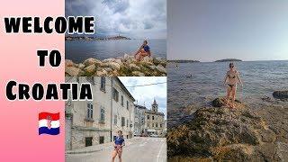 WELCOME TO CROATIA || CAMPING BIJELA UVALA Poreč || VLOG 04
