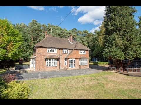 A Detached Six Bedroom Family Home Situated in Fleet Hampshire.