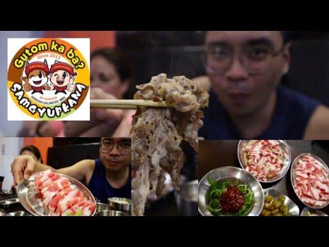 How to eat korean bbq? (samgyupkana)