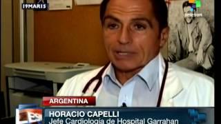 Argentina: premian investigación de cardiólogos del Hospital Garraham