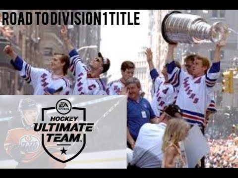 NHL 18 HUT ROAD TO DIVISION 1 TITLE EPISODE 6: ANOTHER LEGEND PULLED!!