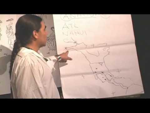 Salida de Aztlan y Fundacion de Mexico - Tenochtitlan. 02