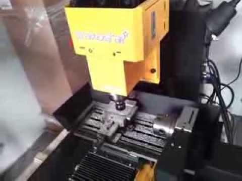 Ogromny Grawostar CNC Master, tania frezarka do stali i metali - YouTube ZI05