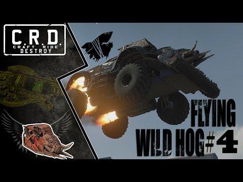 Crossout: [ Tusk & Harvester ] FLYING WILD HOG #4 [ver. 0.9.60]