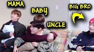 BTS being parents