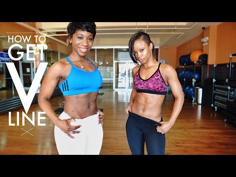 How to Lose Lower Belly Fat | Develop V LINE!