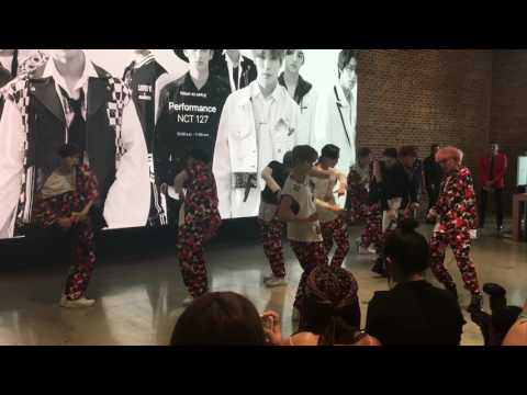 170625 NCT 127- 無限的我 (무한적아; Limitless) @ APPLE STORE IN Williamsburg, Brooklyn, NY