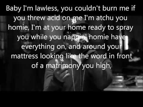 Eminem - Bad Meets Evil - Above The Law lyrics (Dirty/Explicit)