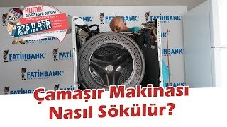 Çamaşır Makinesi Süküyoruz, Çamaşır Makinası Nasıl Sökükür? Bölüm 1