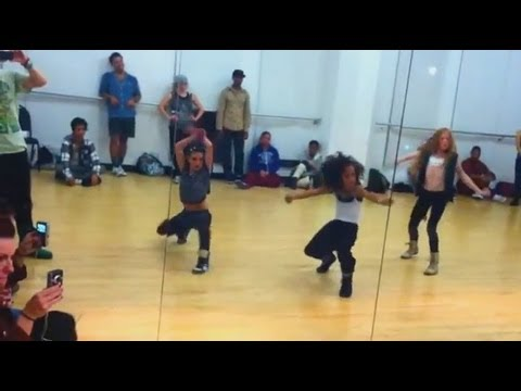 Rihanna - Roc Me Out | Choreography | Jade Chynoweth, Charlize Glass, & Larsen Thompson