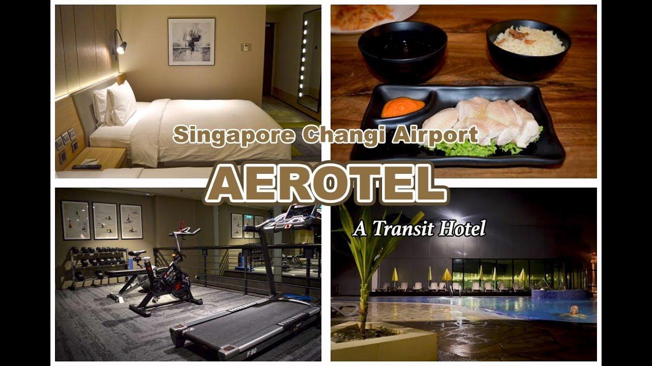 Aerotel Transit Hotel Changi Airport Singapore Terminal 1 Swimming Pool