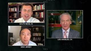 Andrew Yang and Pete Buttigieg | Real Time with Bill Maher (HBO)