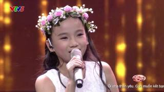 OMIO BADBINO CARO (HD) - Thảo Nguyên - Blind Audition  - The Voice Kids Việt Nam 2016