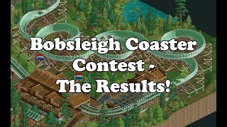 Bobsleigh Contest - The Results!