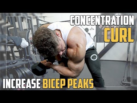 Concentration Curls for Bicep *PEAKS* | Exercise Tutorial