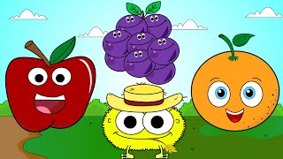Fruit Song 5 | Sing and Learn Fruit Names For Kids