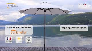 Parasol SOLAR par PRESS ON REC
