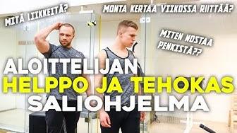 HELPPO JA TEHOKAS SALIOHJELMA ALOITTELIJALLE | RISTIOTE