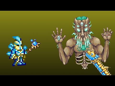 Beating The MoonLord Expert Mode (Terraria Mobile 1.3)