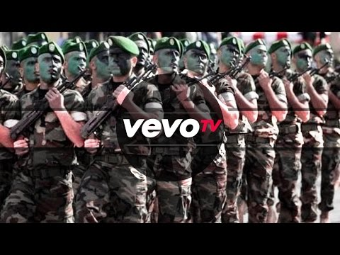Algerian army - Hell March - the largest army in Africa - complete (Official)