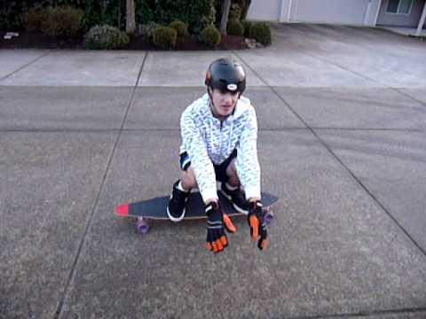 how to slide with sliding gloves