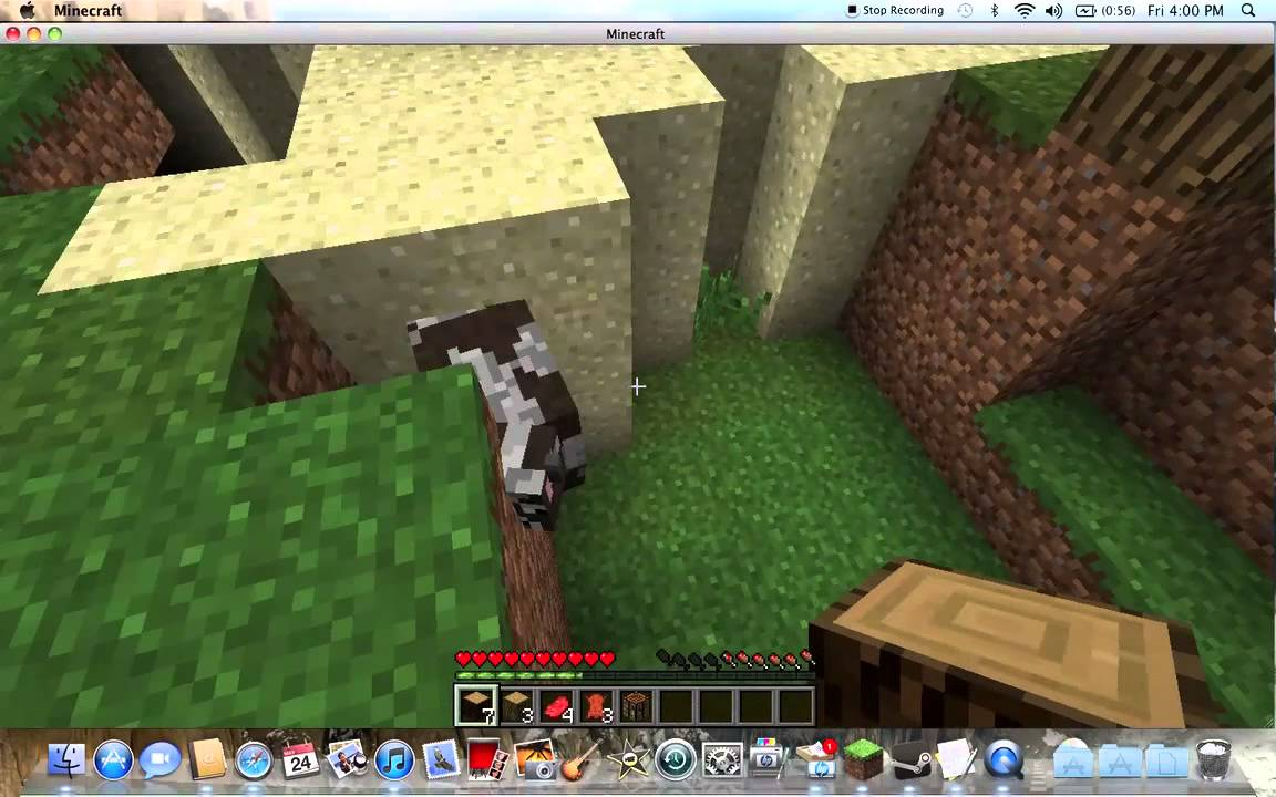 New Minecraft Survival #1 (with Simply Horses Mod) - YouTube